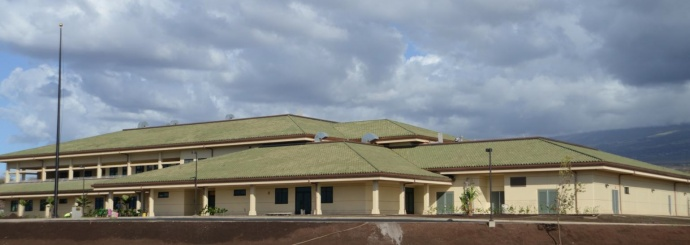 Photo of Kihei Police Station by Tony Earles of the Maui Police Department.