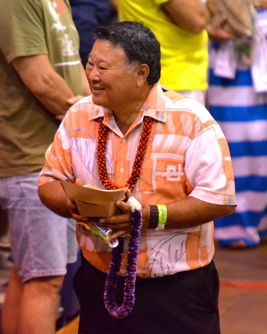 Maui Mayor Alan Arakawa will be among the guest speakers for new outdoor DreamCourt blessing on Saturday. File photo by Rodney S. Yap.