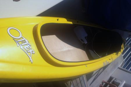 The Coast Guard is seeking the public's help in identifying the owner of a kayak found adrift approximately one mile off Maui, Nov. 5, 2013. Courtesy photo.