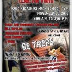 Free Youth Basketball Clinic Saturday at King K