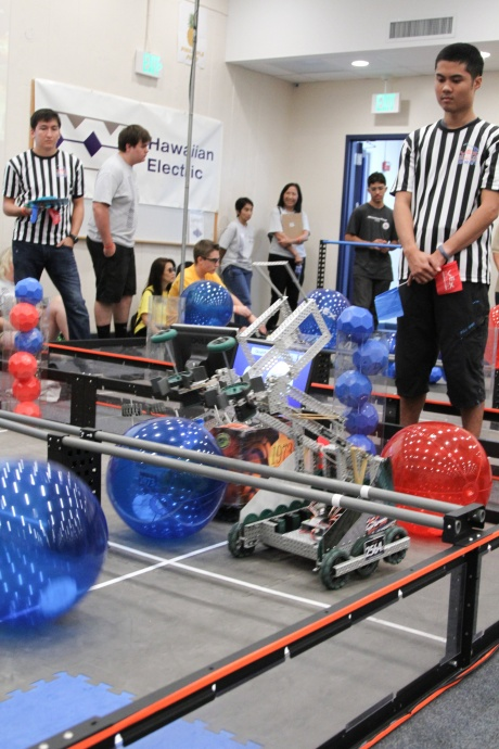 2013 Hawaiʻi VEX Match, courtesy photo.