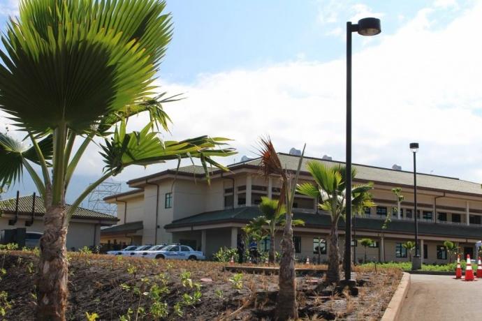 Kīhei Police Station. Photo by Wendy Osher.
