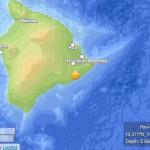Hawaiʻi Island earthquake, 12/9/13. Map courtesy USGS, powered by Leaflet.