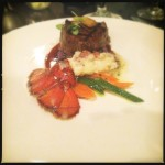 A surf and turf special previously offered by Makena Beach and Golf Resort. Photo by Vanessa Wolf