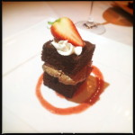 A Godiva Chocolate Mousse Cake created by Makena Beach and Golf Resort. Photo by Vanessa Wolf