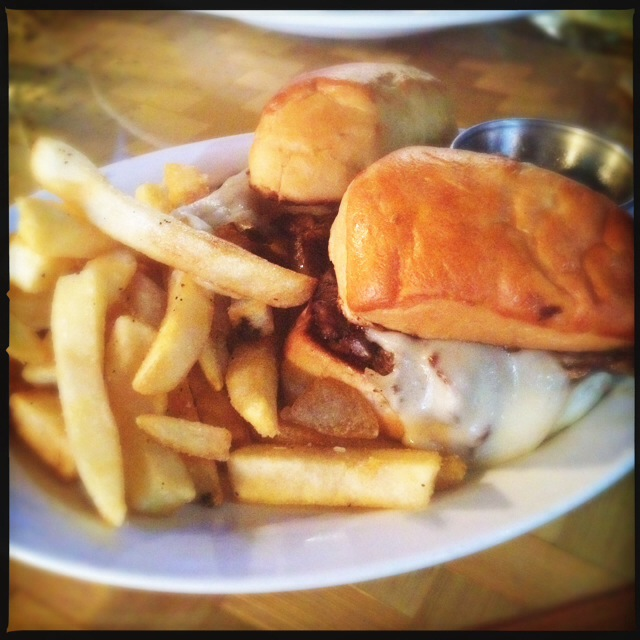 The French Dip Sliders. Photo by Vanessa Wolf