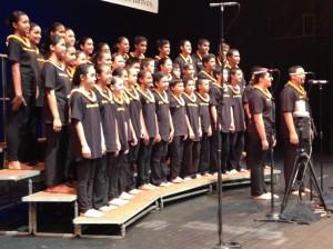 Nā Mele O Maui 2013 Song Competition, Kula Kaiapuni 6-8. Courtesy photo.