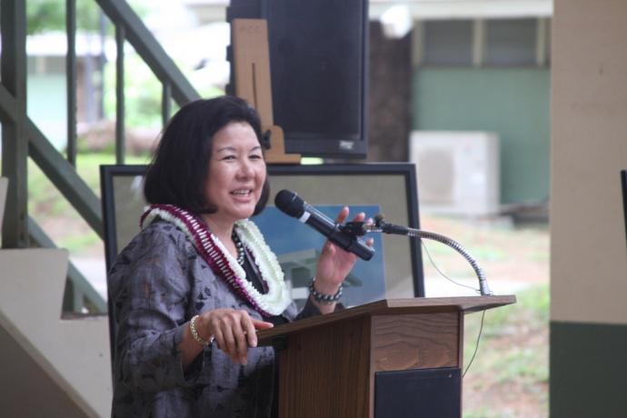 Mrs. Irene Hirano Inouye MPA. Photo courtesy UHMC.
