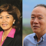 Doreen Nāpua Gomes (left) and Grant Chun (right). Photos by Office of the Governor and Wendy Osher.