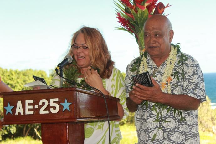 Kūpuna Sheila Roback and Les Kuloloio. Photo courtesy Haleakalā NPS.