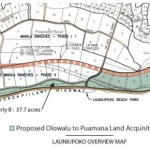 Map of proposed acquisition area in Launiupoko. Image courtesy Maui County Council.
