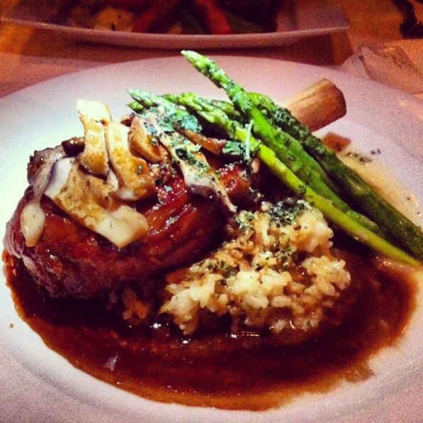 The Veal Chop. Photo by Vanessa Wolf