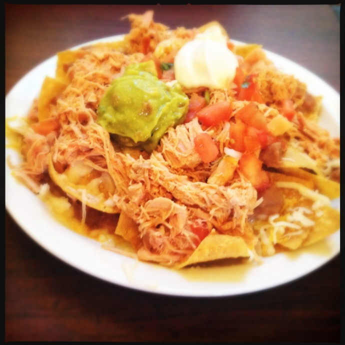 The Chicken Nachos. Photo by Vanessa Wolf