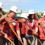 Groundbreaking of the Pu'unēnē Shopping Center that will house Maui's first Target store. File photo by Wendy Osher.
