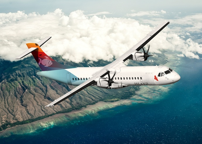 Plane rendering, courtesy Island Air.
