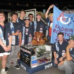 Baldwin High School's Robotics Team is one of the recipients of Monsanto Hawaii's Science Education Fund. Baldwin High was a member of a three-team alliance that took first place at the FIRST Hawaii Regionals robotics competition in April 2013. Photo courtesy Monsanto Hawaiʻi.