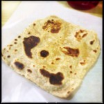 The Chapatti is pretty as Christmas. Photo by Vanessa Wolf