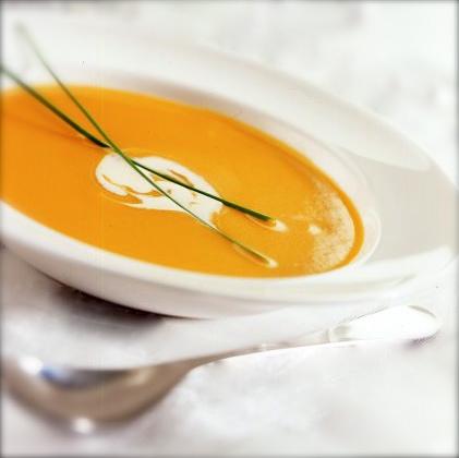 Roasted butternut squash soup. Courtesy image