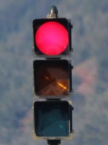 Traffic light, photo by Wendy Osher.