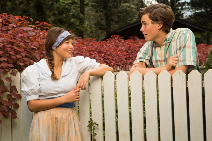 Zoe Harrelson-Louie and Kaimana Neil in The Diviners. Image courtesy Eric Rolph Photography