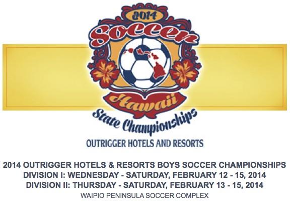 Boys Soccer - 2014 Boys Soccer Championships - Hawaii High School Athletic Association (HHSAA)