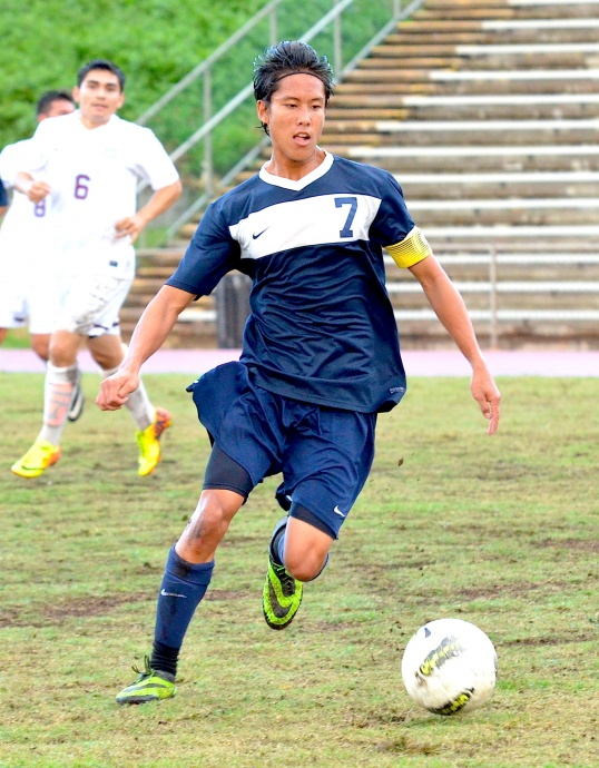 Kamehameha Maui senior Daniel Queng is hoping to improve on last year's third-place finish. Photo by Rodney S. Yap.