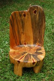 David Yaeger's shaped wood. Courtesy image