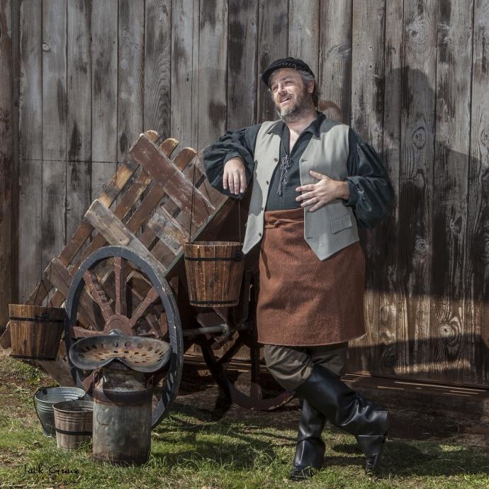 Gary Shin-Leavitt as Tevye. Photo courtesy Jack Grace.
