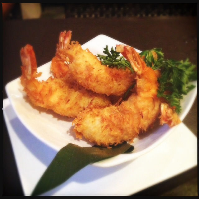 The Coconut Shrimp. Photo by Vanessa Wolf