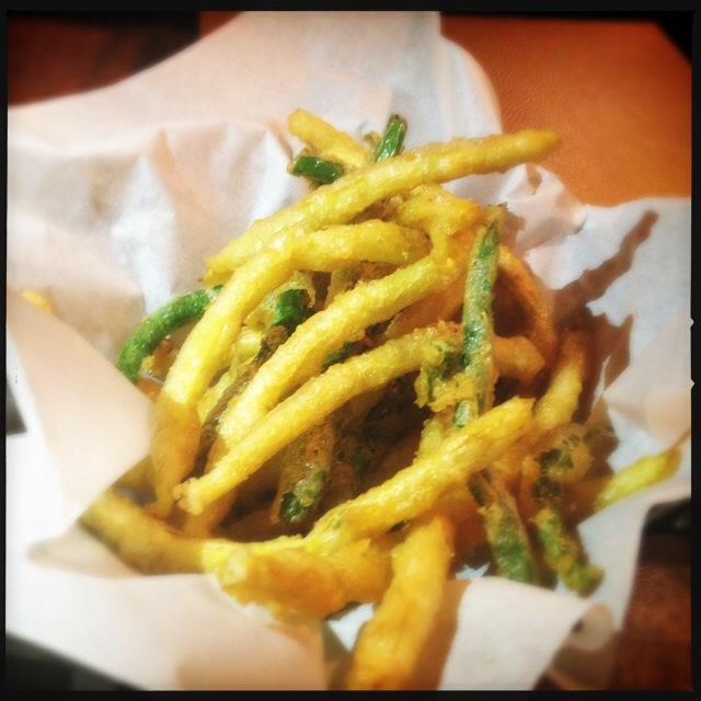 The Tempura Green Beans. Photo by Vanessa Wolf
