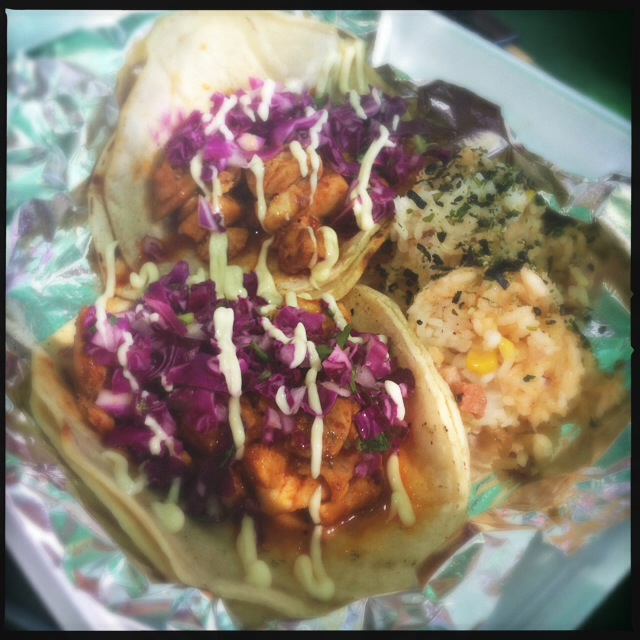 The Funked Up Fish Tacos. Photo by Vanessa Wolf