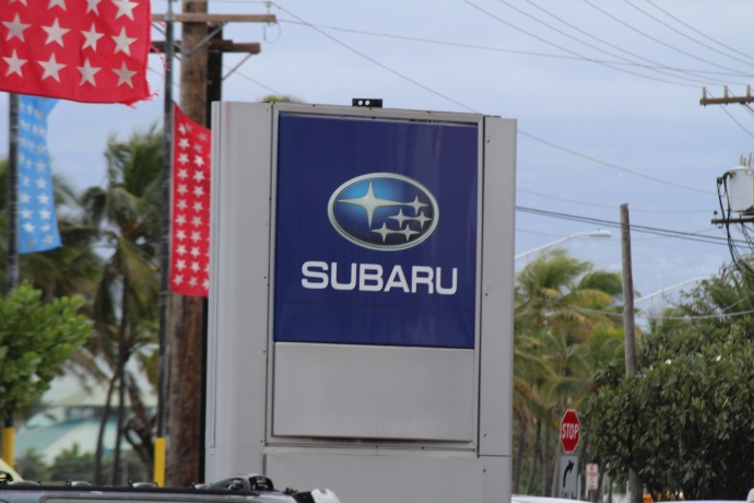 Maui's Island Subaru photo by Wendy Osher.