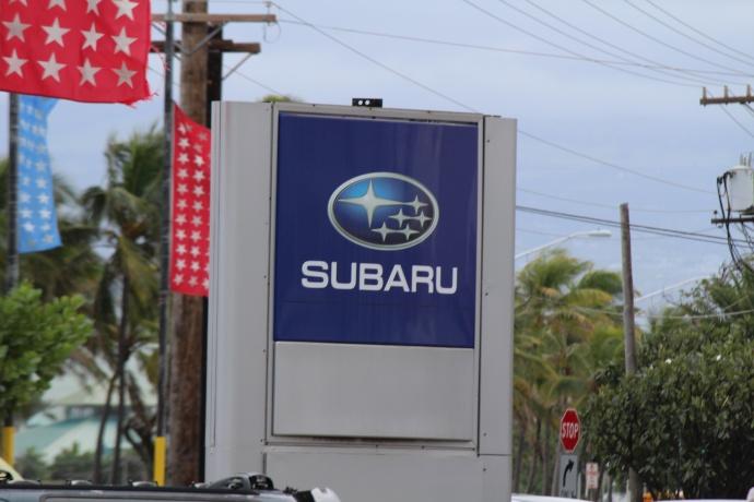 Maui's Island Subaru photo by Wendy Osher.