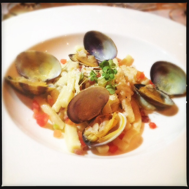 A dish from a previous Makena Beach & Golf Resort wine dinner. Photo by Vanessa Wolf