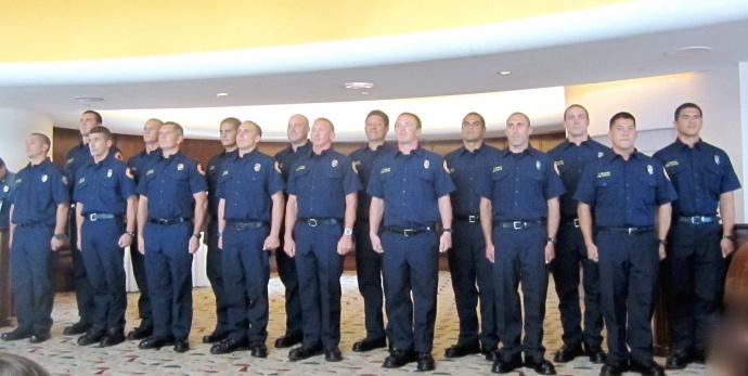 MFD 30th Recruit Graduation. Courtesy photo.