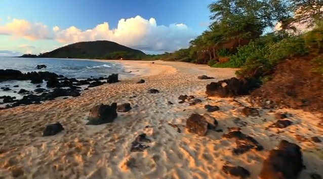 A shot from Maui - The Valley Isle Glide Cam video.
