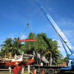 Maui Voyaging Canoe Weighs in at 10.3 Tons
