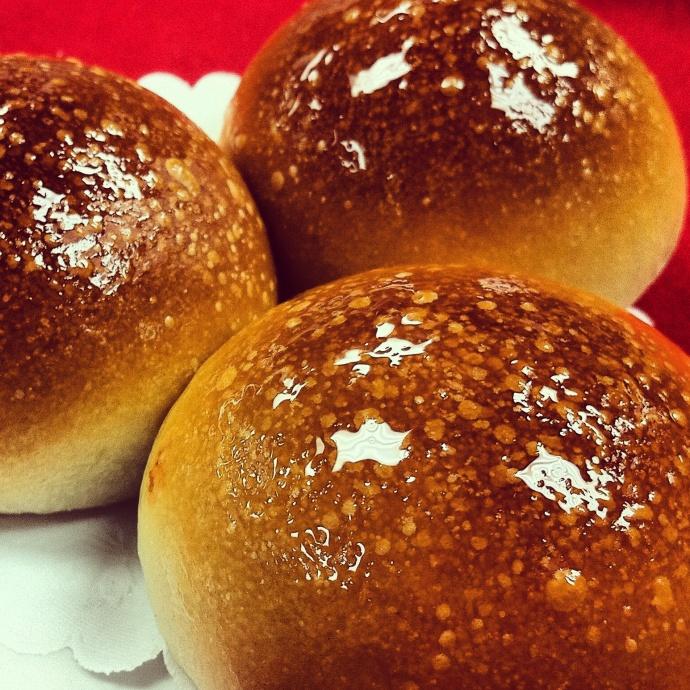 Baked Bao Buns. Photo by Vanessa Wolf