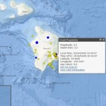 Hawaiʻi Island earthquake, March 9, 2014. Image courtesy USGS/HVO.