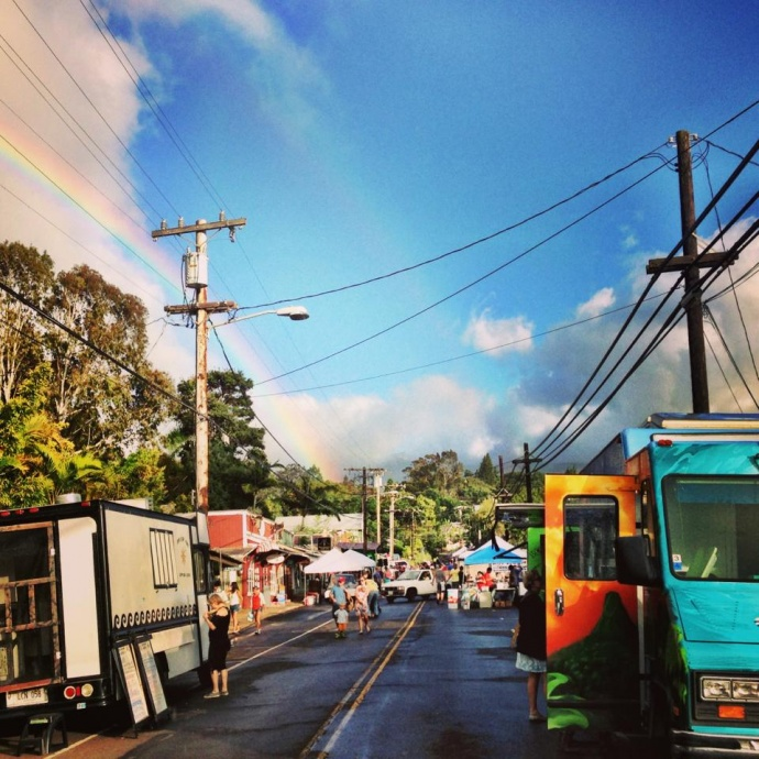 A scene from Makawao Friday. Courtesy image