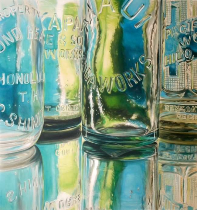 "Robena's ""Clear Reflective State"" was featured as part of Art Maui 2013. Courtesy image."