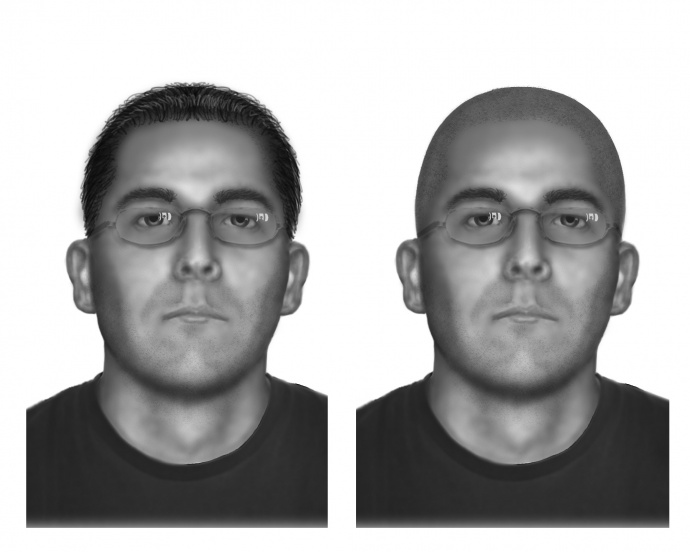 Daniel Andreas San Diego, age progression. Image courtesy FBI.