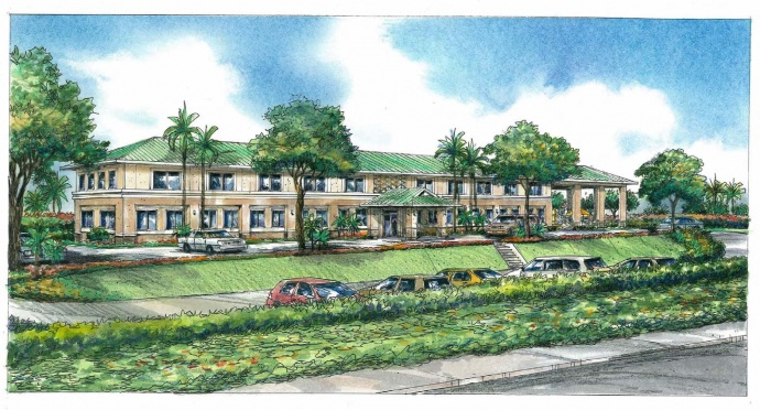 Easter Seals Hawaii Maui Campus rendering. Courtesy image.