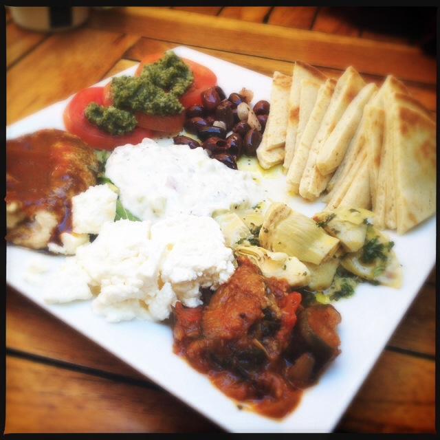 The Mediterranean Platter. Photo by Vanessa Wolf