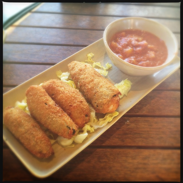 The Jalapeno Poppers are a lot more creative than the usual fare. Photo by Vanessa Wolf