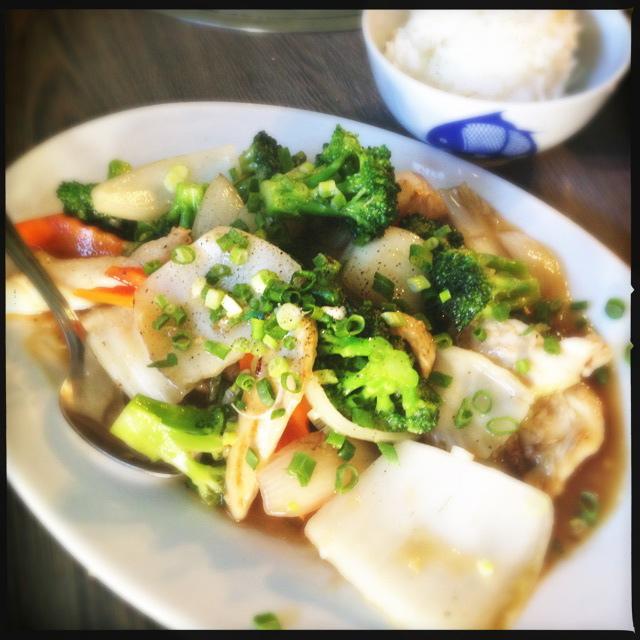 The Chicken Wok Dish. Photo by Vanessa Wolf