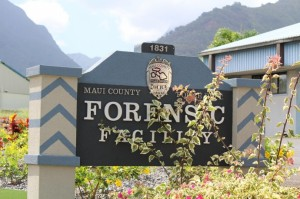 Maui Police Department Forensic Facility in Wailuku. Photo by Wendy Osher.