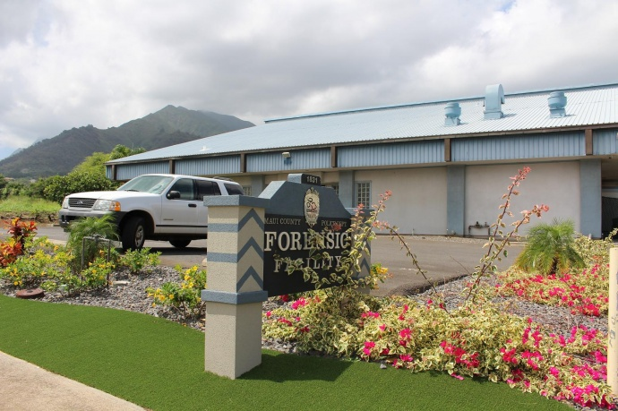 County of Maui Forensic Facility, photo by Wendy Osher.