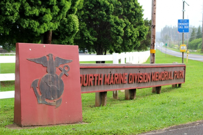 Fourth Marine Division Park in Haʻikū. Photo by Wendy Osher.