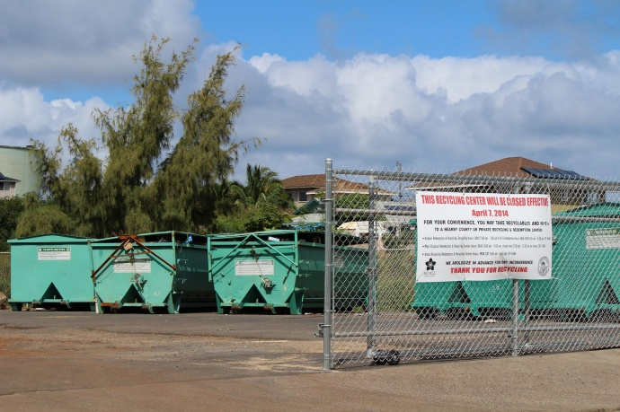 Waiehu Recycling Center. Photo by Wendy Osher.
